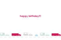 Childrenbday26 Greeting Card (55x85)